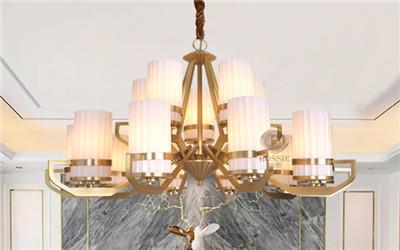 儒思-新美式铜灯